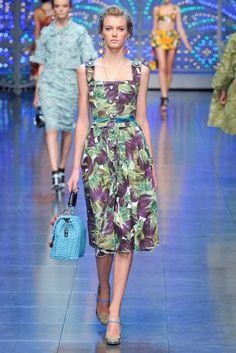 Dolce & Gabbana RTW S/S 2012