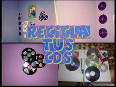 COMO RECICLAR TUS CD's VIEJOS ☮