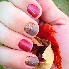 Apple Cider can be paired with sooooo many other wraps & lacquers LOVING