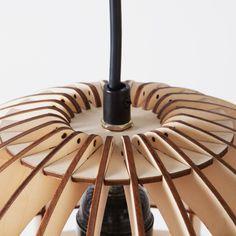 Encaixe radial para luminária