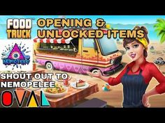 Food Truck Chef Unlocked Items at First Opening Delicious Ingredients | OVAL Nemopelee In My gameplay of Food Truck Chef game you get free Gems and Coins and even Unlock some cooking Items from the opening and beginning of the jam which should probably help you level up faster to some extent. Delicious Ingredients. This game can be addictive so know how to play lightly  00:01 is a SHOUTOUT to Nemopelee Channel and thanks for his background music he mixed for me. Check Out These Videos Below…