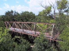 Old bridge over the Nueces River, just north of Simmons, TX....Simmons Bridge, the mainstay party place of Live Oak County teens for decades haha