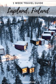 Lapland, Finland is an absolute winter wonderland. From the best winter activitites to the best hotels here's the perfect Lapland, Finland travel guide. Finland Tour, Finland Travel, Lapland Finland, Travel Advice, Travel Guide, Travel Ideas, Travel Stuff, Visit Santa, Travel Destinations