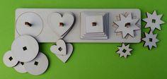 Vkládačka tvarů 4x4