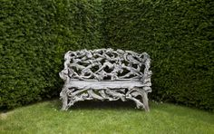 Rootwood bench at Woolbeding. ©National Trust Images/Chris Lacey