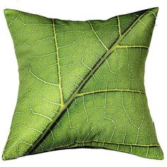liściasta poszewka 40cm w AT design na DaWanda.com