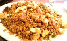 Arroz chaufa. Peruvian fried rice.