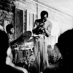 Miles and Jack DeJohnette
