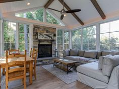 3 Season Rooms by Pro Built Construction, Raleigh, Cary & Apex, NC All Season Porch, 4 Season Sunroom, 3 Season Room, Three Season Room, Family Room Addition, Sunroom Addition, Four Seasons Room, Sunroom Decorating, Room Additions