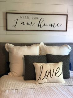The 30 Second Trick For Master Bedroom Wall Decor Above Bed Rustic 5 – Hazir Site Home Decor Bedroom, Diy Home Decor, Bedroom Signs, Signs For The Bedroom, Bedroom Wall Decor Above Bed, Quotes For Bedroom, Above Headboard Decor, Decor Over Bed, Bedroom Furniture