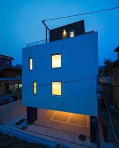 ArchiWorkshop · White Cube, Mangwoo · Divisare Contemporary Architecture, Filing Cabinet, Cube, Projects, Home Decor, Log Projects, Blue Prints, Decoration Home, Room Decor