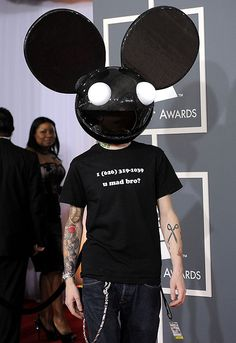 DeadMau5 at the Grammys