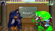 Batman And Garfield The Cat VS Gilius Thunderhead And The Hulk In A MUGEN Match / Battle / Fight This video showcases Gameplay of Batman The Superhero And Garfield The Cat From The Garfield And Friends Series VS Gilius Thunderhead The Dwarf From The Golden Axe Series And The Hulk In A MUGEN Match / Battle / Fight