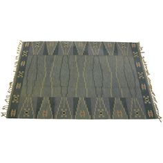 Swedish Rolakan Carpet by Ingegerd Silow   From a unique collection of antique and modern russian and scandinavian rugs at http://www.1stdibs.com/furniture/rugs-carpets/russian-scandinavian-rugs/
