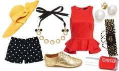 """""""Dream Disney Park Outfit 2"""" by gidgetgif on Polyvore"""