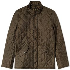 BARBOUR FLYWEIGHT CHELSEA QUILT JACKET. Color: Olive. Style Code: MQU0007OL52. Year: 2016 - 2017.