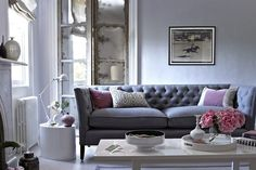 Pretty Chic - Living Room Design Ideas & Pictures - Decorating Ideas (houseandgarden.co.uk)
