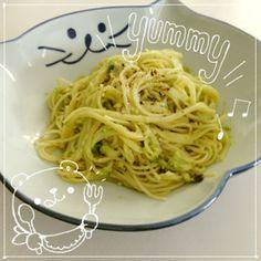 【FP】アボカドパスタ☆ランチに|アボガド・パスタ・玉ねぎ・豆乳・にんにく・レモン汁・粉チーズ