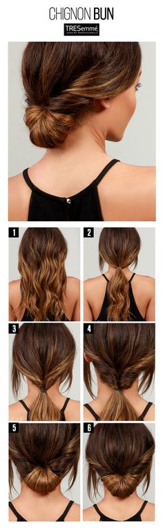 Tutorial Chignon Bun – Peinado Rápido Moño Bajo Street Style #TRESemmé