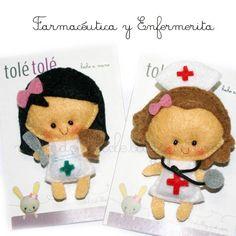 Farmacéutica y Enfermerita by Tolé Tolé, via Flickr