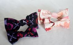 Valentine's Day Pet Dog Bow Ties by YouFascinateMeSo on Etsy