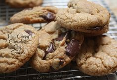 Thin, Crispy Chocolate Chip Cookies | TastingSpoons