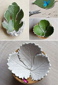 12 Air Dry Clay Projects that will instantly inspire you! 12 Air Dry Clay Projects that will instantly inspire you!<br> 12+ Incredible Air Dry Modeling Clay Ideas from craft projects, creative ideas and simple techniques that will instantly inspire you! Clay Projects, Diy Craft Projects, Garden Projects, Fall Crafts For Kids, Crafts To Make, Diy Crafts, Fall Leaf Template, Air Dry Modeling Clay, Autumn Leaves Craft
