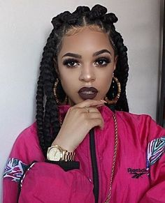 Jumbo Box Braids Hairstyles Pictures 42 chunky cool jumbo box braids styles in every length Jumbo Box Braids Hairstyles. Here is Jumbo Box Braids Hairstyles Pictures for you. Short Box Braids Hairstyles, Protective Hairstyles, Black Women Hairstyles, Long Haircuts, Protective Styles, Amazing Hairstyles, Hairstyles 2018, Pixie Haircuts, Trendy Hairstyles