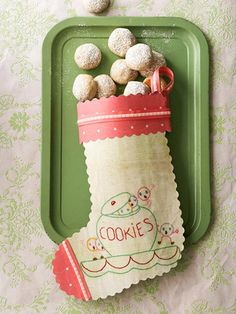 Timeless Paper Stocking for Little Cookies