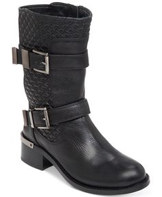 Vince Camuto Welton Mid-Shaft Booties - Boots - Shoes - Macy's