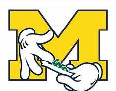 University Of Michigan, Go Blue, Logos, School, Logo