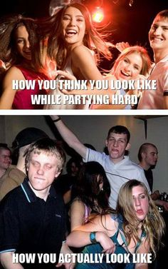 True life. No, actually I'm pretty sure I look even worse than that.