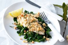 A crunchy coating of macadamia nuts turns fish fillets into a gourmet weeknight meal.