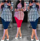 Foreverfad 2020 summer new European and American foreign trade Amazon Latest African Fashion Dresses, Mothers Dresses, New Print, African Women, Pencil Dress, A Line Skirts, Dresses For Sale, Red And Blue, Dresses With Sleeves