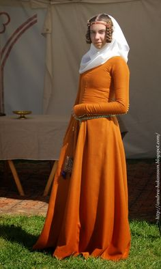 Recreating History - the Amber Dress