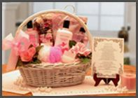 Beautiful Woman Spa Gift   Beautiful Woman Spa Gift Basket will bring smiles to every woman. This basket is filled with pampering products.   Includes: Candle, Body Lotion, Body Wash, Body Spray, Potpourri, Potpourri Sachet Envelope Holder, Body loofah ball along with a beautiful handle wicker basket and special poem.