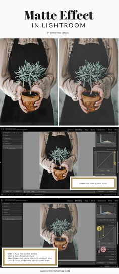 How To Achieve A Beautiful Matte Effect In Just Two Easy Steps - CHRISTINA GREVE