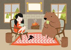 Tea Time by Hillary Bird on Etsy