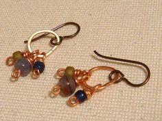 Modern Artisan Earrings by TamiLopezDesigns on Etsy, $20.00