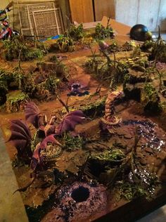 Tyranid Infested Catachan Jungle World. Awesome.
