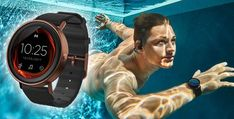 Misfit Vapor Smartwatch for the fitness conscious! Fitness Gadgets, Misfits, Fitness Tracker, Smart Watch, Swimming, Watches, Health, Sports, Swim