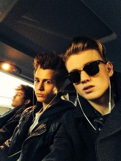 Connor, James and Tristan