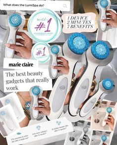 ageLOC® Lumispa Beauty Device Debut Kit with 1 New Cleanser Skincare For Combination Skin, Nose Pores, Pore Cleanser, Facial Massage, Eye Makeup Remover, Facial Cleansing, Anti Aging Skin Care, Sensitive Skin, Nu Skin