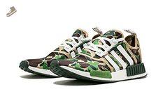 Adidas NMD_R1 Bape - BA7326 US 7.5 - Adidas sneakers for women (*Amazon Partner-Link)