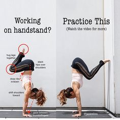 Was the first handstand I practiced in order to … 🤸🏻‍♀️Tuck Handstand!Was the first handstand I practiced in order to teach my body how to find balance on the hands. Fitness Workouts, Yoga Fitness, Butt Workout, Video Fitness, Bikram Yoga, Ashtanga Yoga, Kundalini Yoga, Pilates Yoga, Iyengar Yoga