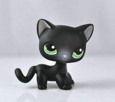 Littlest Pet Shop Cat Collection Child Girl Boy Figure Toy Loose Cute LPS831| Looks like Toothless from How to train your dragon!