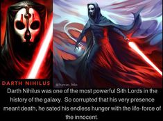Star Wars Sith, Star Wars Rpg, Star Wars Fan Art, Clone Wars, Star Trek, Darth Nihilus, Darth Maul, Star Wars Kotor, Anakin Vader