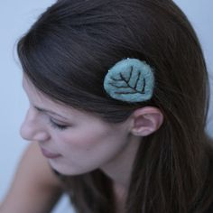 Wild Meadow Clip by YellowElm on Etsy