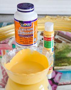 Chalk Paint Recipe | DIYIdeaCenter.com