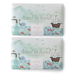 Sea Salt Bar Soap - 2 Pack